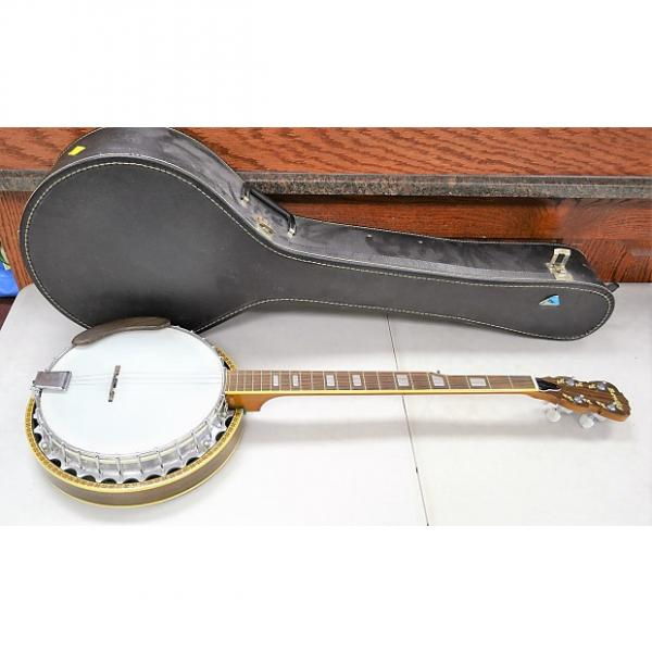 Custom Bently Eagle 5-String Banjo with Carry Case *Missing 2-Strings #1 image