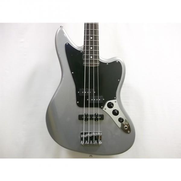 Custom Fender Standard Jaguar Bass 2016 Ghost Silver #1 image