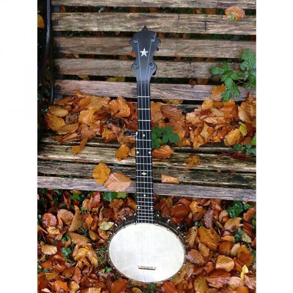 Custom SS. Stewart SS Stewart Ladies/pony5 String Banjo 1896 Walnut #1 image