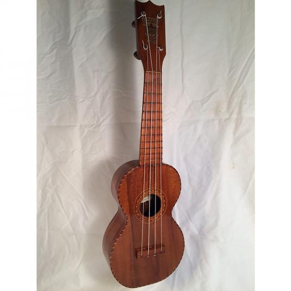 Custom Jonah Kumalae Style 3 Koa Soprano Ukulele 1918 #1 image