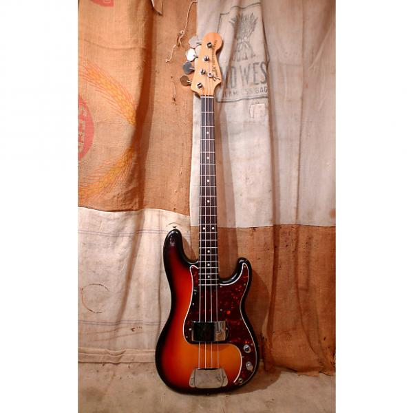 Custom Fender Precision Bass 1974 Sunburst #1 image