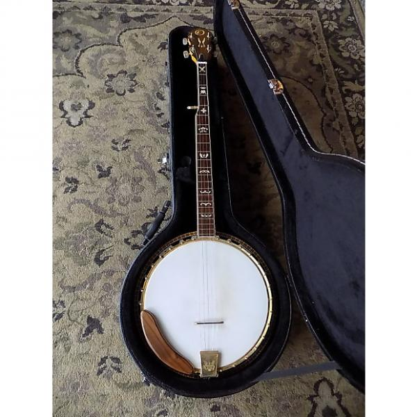 Custom Kay Golden Eagle 5 String Banjo 1970s Natural w/Gold Parts #1 image