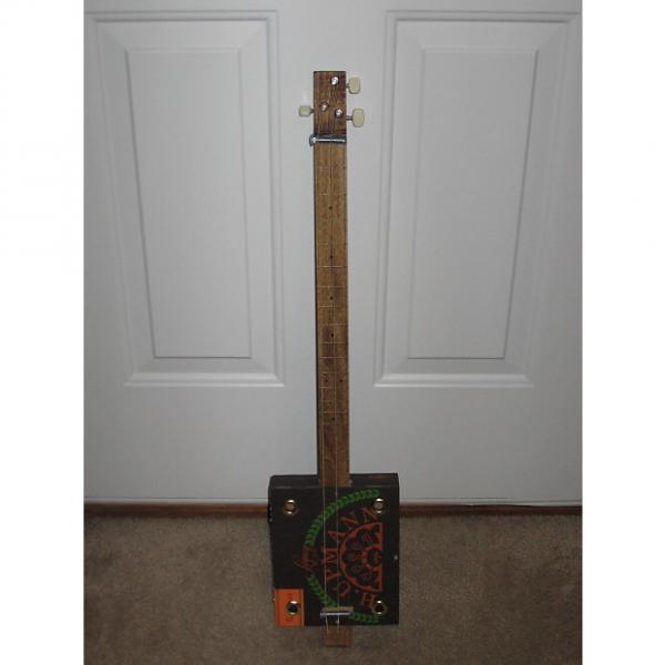 Custom LJK Cigar Box Guitar #257 #1 image