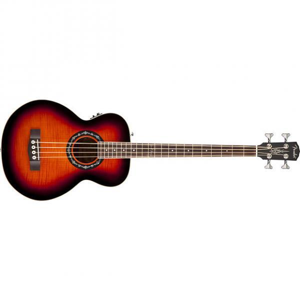 Custom Fender T-Bucket Bass E Sunburst Acoustic Bass Guitar #1 image