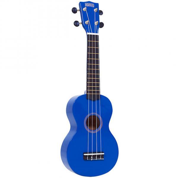 Custom Mahalo MR1BU Ukulele Blue #1 image