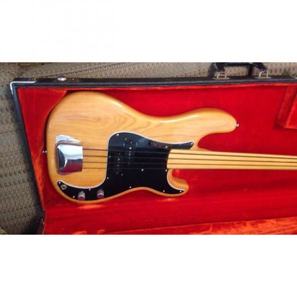 Custom Fender Precision Fretless 1977 Natural #1 image