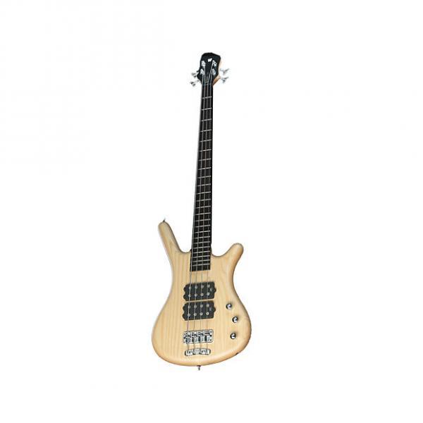 Custom Warwick RockBass Corvette$$ Rosewood FB Electric Bass Natural Trans Satin - 1584389005CPASHAWW #1 image