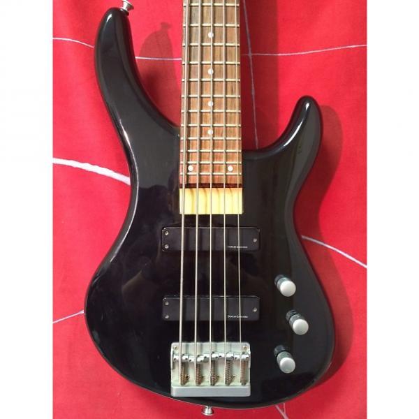 Custom Jackson 5 String Bass Black #1 image