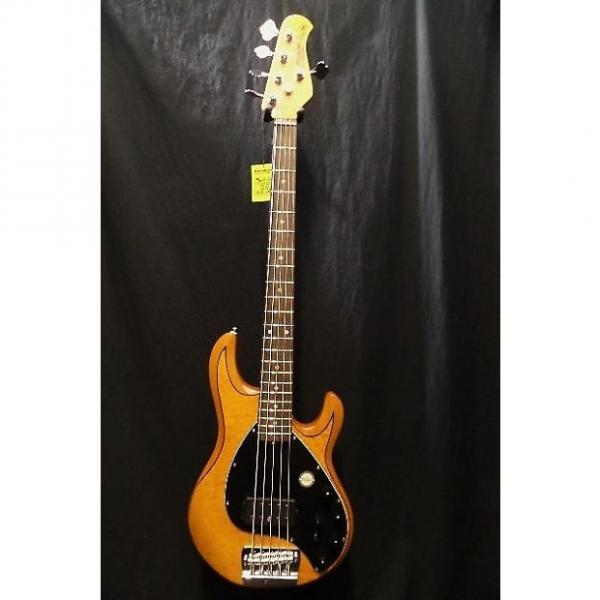 Custom Sterling by Music Man Ray 35QM-AM-R Electric Bass Guitar RAY35QM & Gig Bag #3188 #1 image