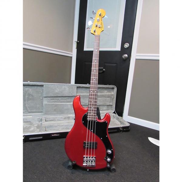Custom Fender Dimension Bass 2013 Red #1 image