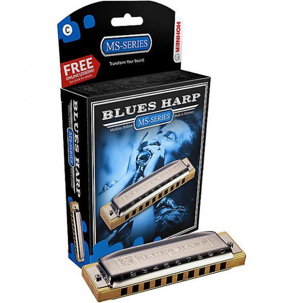 Custom Hohner 532DX Blues Harp D #1 image