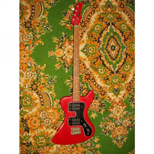Custom Jolana Disco Bass 1985 REd #1 image