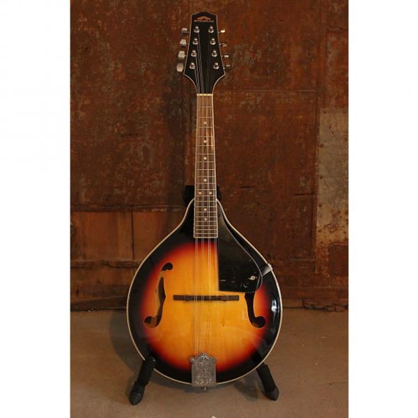 Custom Stadium A Style Mandolin, F Holes, Natural Sunburst 8 String, Free Shipping #1 image