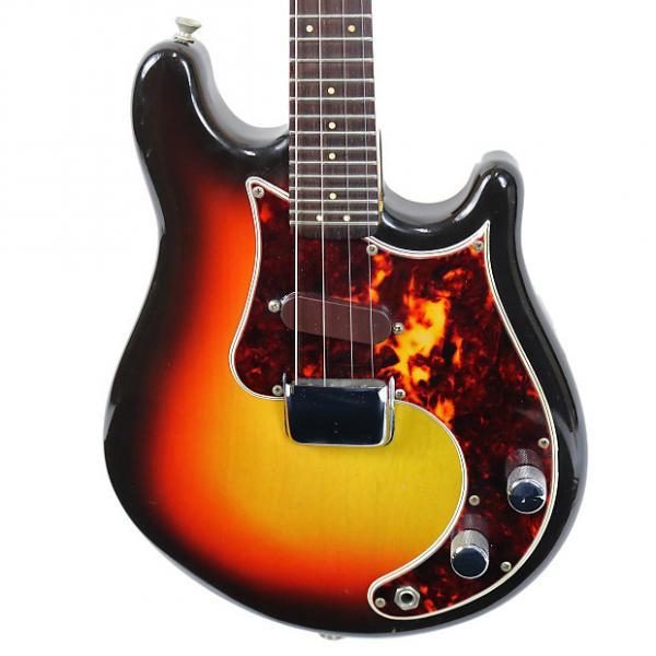 Custom Vintage 1966 Fender Mandocaster Electric Mandolin Sunburst Finish #1 image