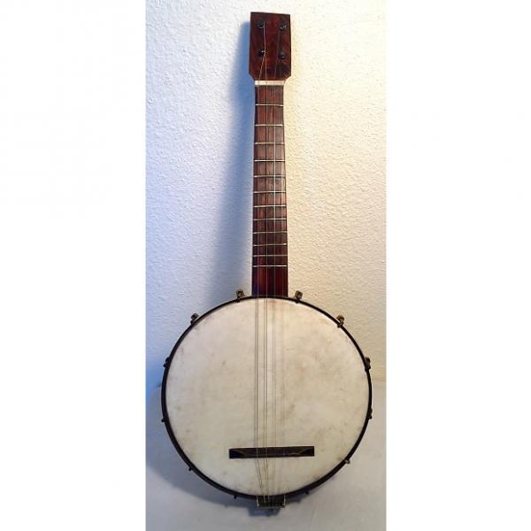 Custom Vintage Ancient Mini Banjo With Buckbee Hardware Tenor 1900 Gold Shield Hardware #1 image