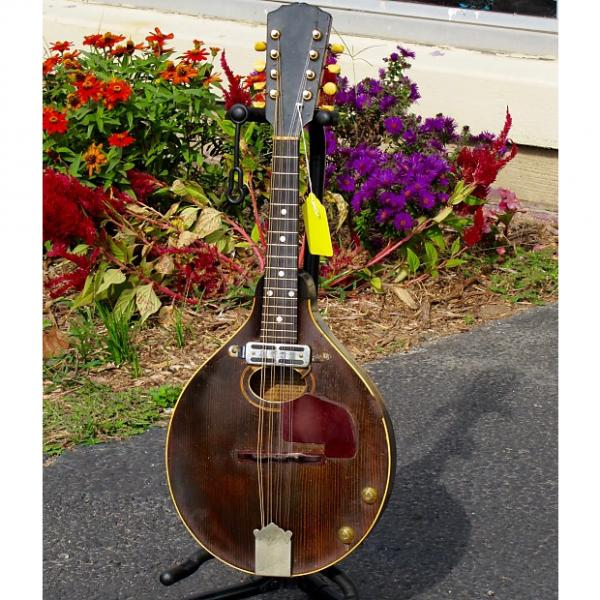 Custom Gibson A Style Mandolin 1920 Antique Natural w/ OHSC #1 image