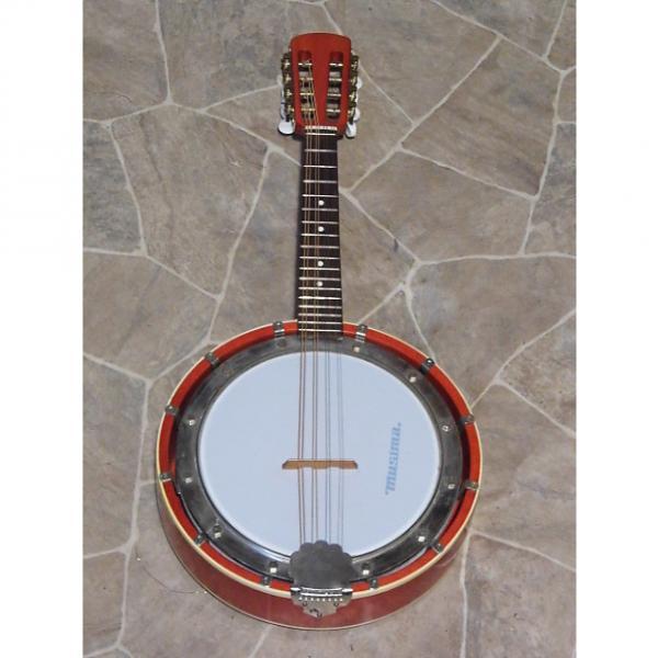 Custom vintage MUSIMA 8string MANDOLINBANJO banjolino mando banjo Germany 1960s #1 image