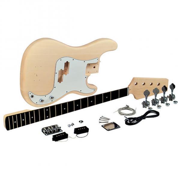 Custom Saga PB-10 P-Style Electric 4-String Bass Guitar Kit #1 image