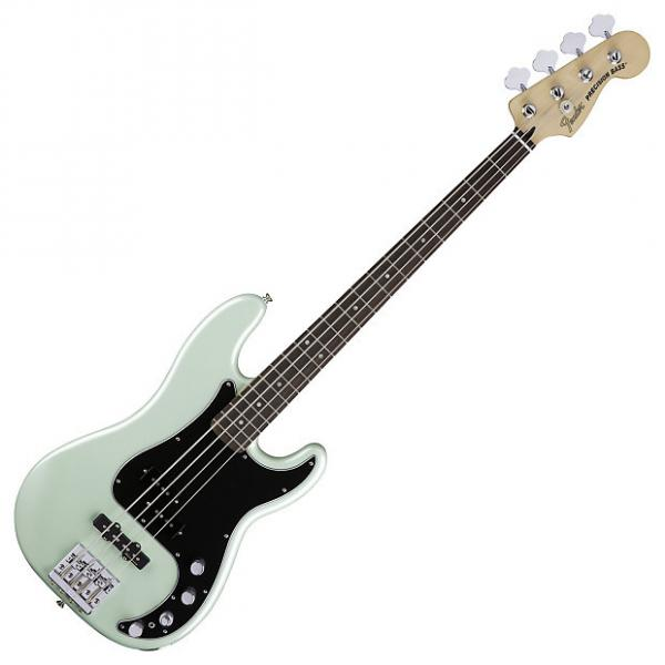 Custom Fender 014-3410-349 Deluxe Surf Pearl Active P Bass #1 image