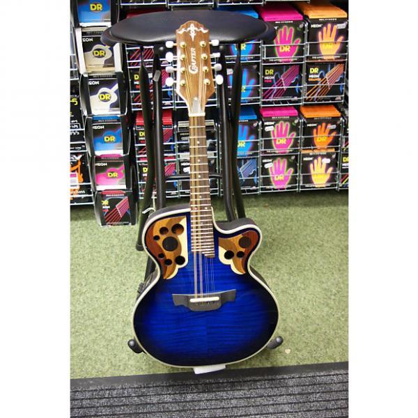Custom Crafter M85E electro mandolin in marineburst finish #1 image
