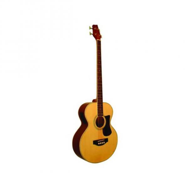 Custom Kona Signature Series Electric Acoustic Bass with Gig Bag Model: KSABNE #1 image