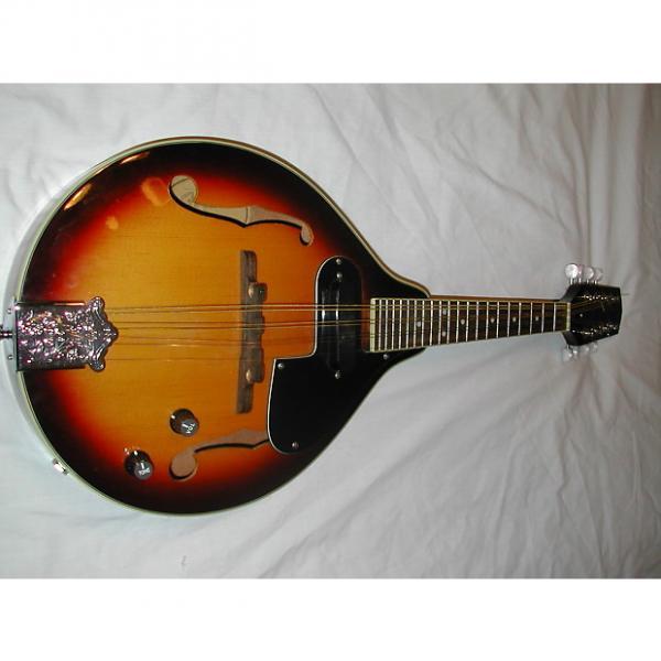 Custom fender Mandolin FM 52E Sunburst #1 image
