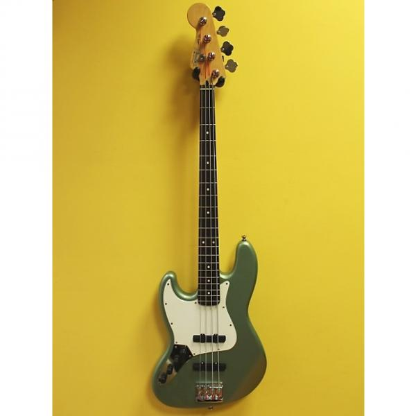 Custom Fender Jazz Bass Left hand green Metallic #1 image