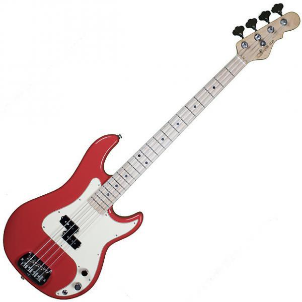 Custom G&L USA Custom LB-100 Empress Body Electric Bass in Fullerton Red! Under 8 lbs! #1 image
