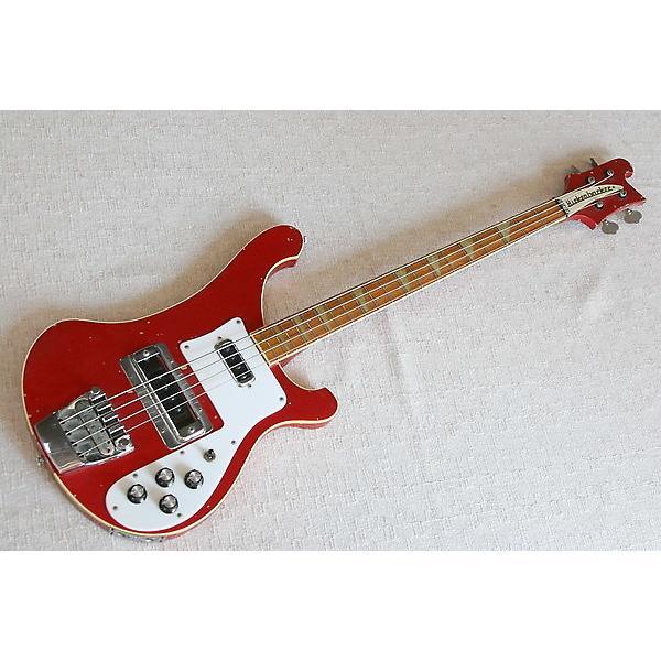 Custom Rickenbacker Bass 4001 1982 Red #1 image