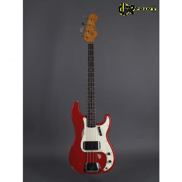 Custom Fender Precision Bass 1965 Dakota Red #1 image