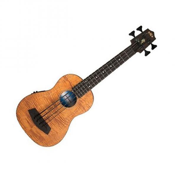 Custom Kala KA-UBASS-EM-FS Acoustic-Electric UBASS - Satin Exotic Mahogany Fretted #1 image