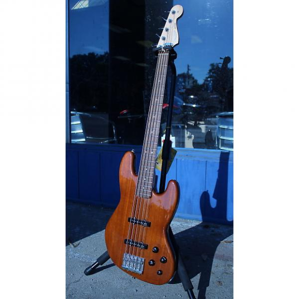 Custom Fender Deluxe Active Jazz Bass V Okoume NOS #1 image
