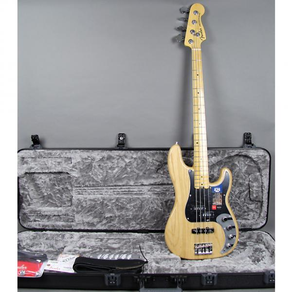 Custom Fender American Elite Precision Bass 2016 Natural Finish #1 image