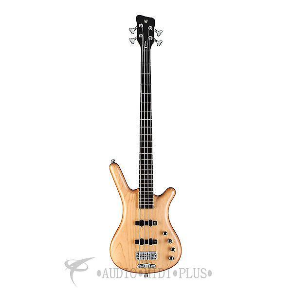 Custom Warwick Corvette Rockbass Basic Active 4 Strings Electric Bass Guitar Natural - 1504039005CAALDAWW-U #1 image