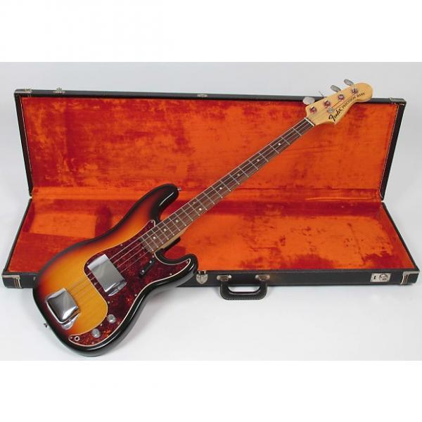 Custom Fender Precision Bass 1969 Sunburst #1 image