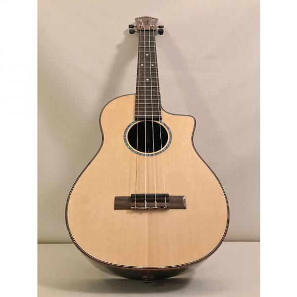 Custom Cordoba 32T-CE All Solid Acoustic/Electric Tenor Ukulele - Natural #1 image