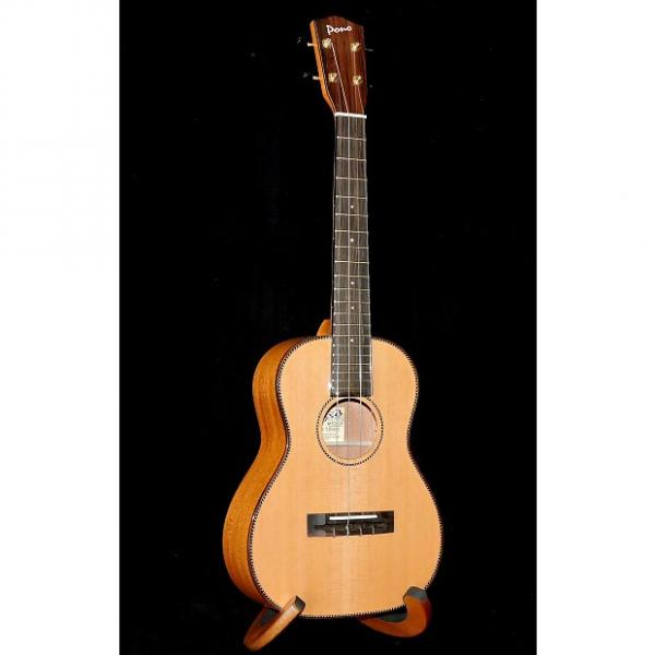 Custom Pono MTD-CR Solid Cedar Top Solid Mahogany Back and Sides Tenor Ukulele #1 image