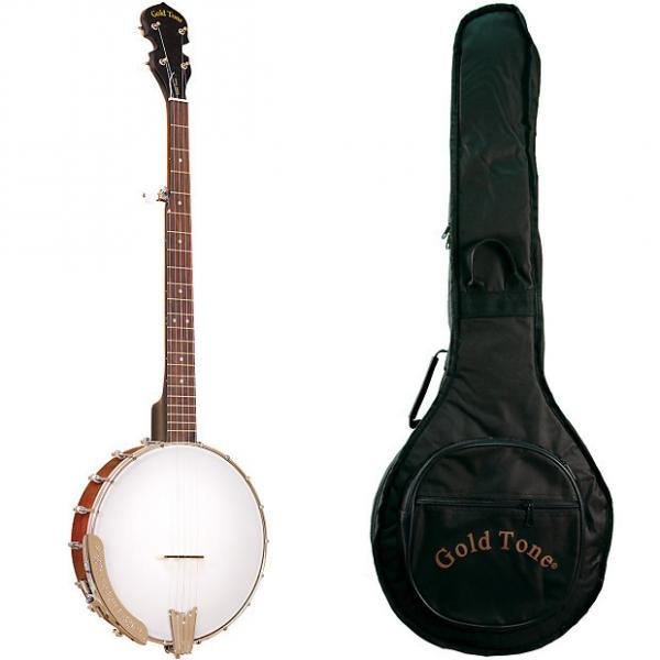 Custom Gold Tone CC-50 Economy Cripple Creek Beginner Banjo (Five String, Maple) with Gig Bag #1 image