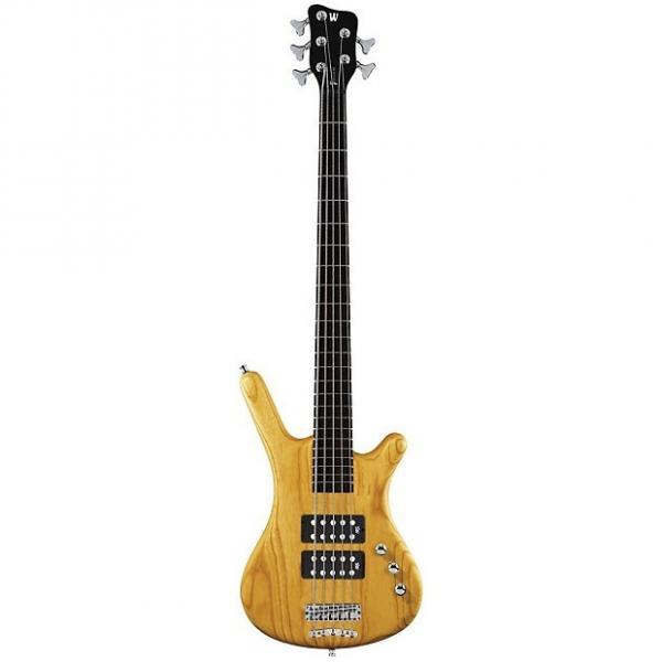 Custom Warwick Corvette Rockbass $$ Bass Guitar (5 String, Oil Finish, Honey Violin) #1 image