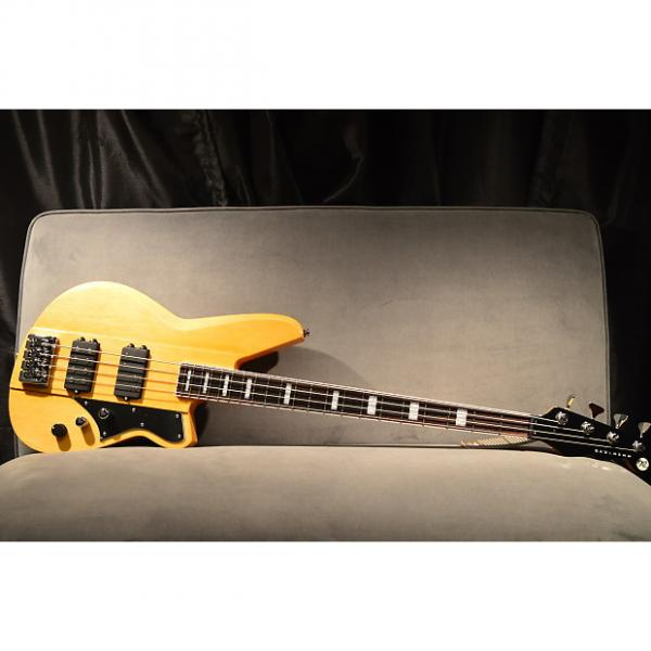 "Custom New! Reverend ""Thundergun"" Electric Bass Vintage Clear Finish Auth Dealer #1 image"