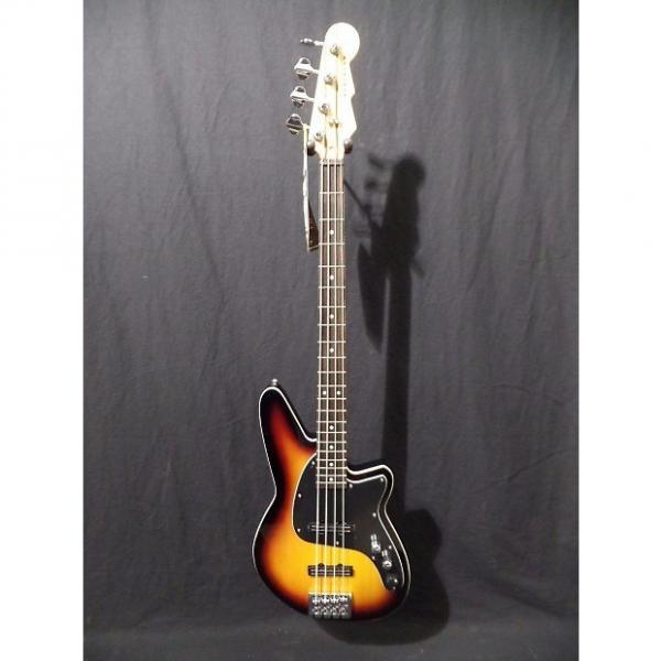 Custom Reverend Guitars Justice 4 String Jazz Bass in 3 Tone Sunburst NOS #8642 #1 image