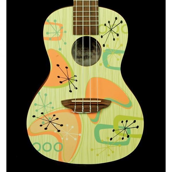 Custom New! Luna Radioactive Uke Mahogany Concert Ukulele with Gigbag #1 image