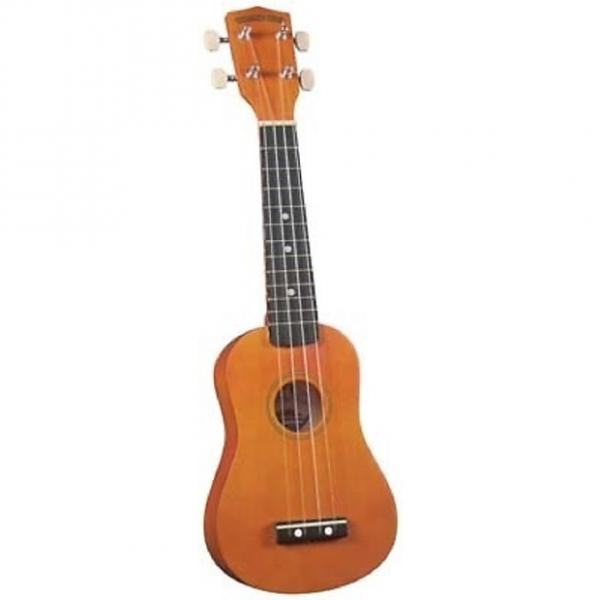 Custom Diamond Head Ukulele with bag #1 image