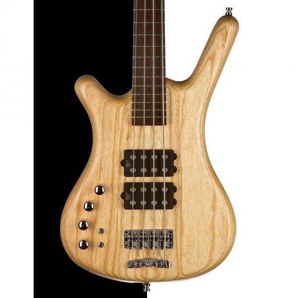 Custom Warwick German Pro Series Corvette $$, 4-String, Natural Satin, Lefty #1 image