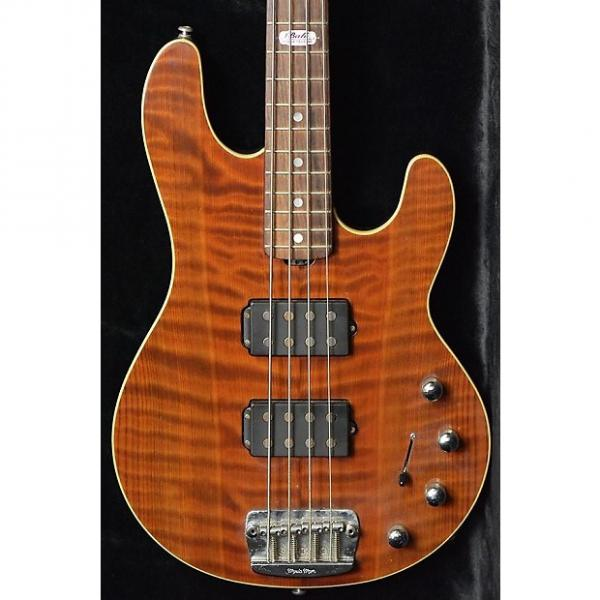Custom MusicMan Ball Family Reserve StingRay 4 Red Wood Limited  2008 #1 image