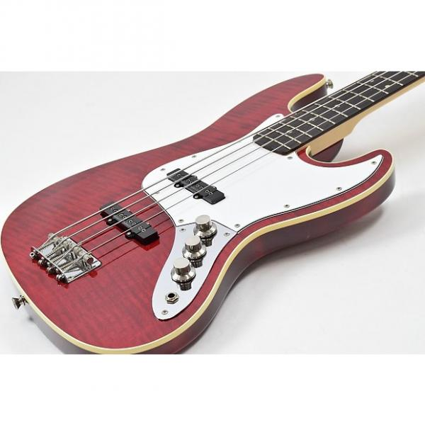 Custom Fender Japan AJB-DMC FLR See Through Red #1 image