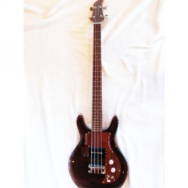 Custom Dan Armstrong ADA-4 Bass guitar 1998 Transparent Smoke Reissue 1998 #1 image
