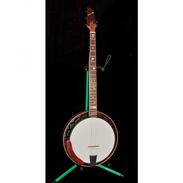 Custom New Nechville Walnut Galaxy Phantom 5 String Banjo With Case #1 image