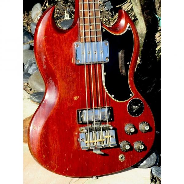 Custom Gibson EB-3 Bass 1967 Chery Red #1 image