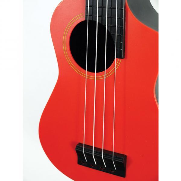 Custom eddy finn - Beach-Comber Plastic And Fantastic With Gig Bag!  (red)  Model: EF-PSRD #1 image